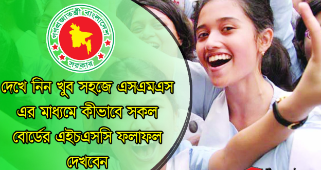 HSC Result 2019 by SMS