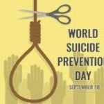 World Suicide Prevention Day- Tuesday 10th September | World Suicide Prevention Day 2019